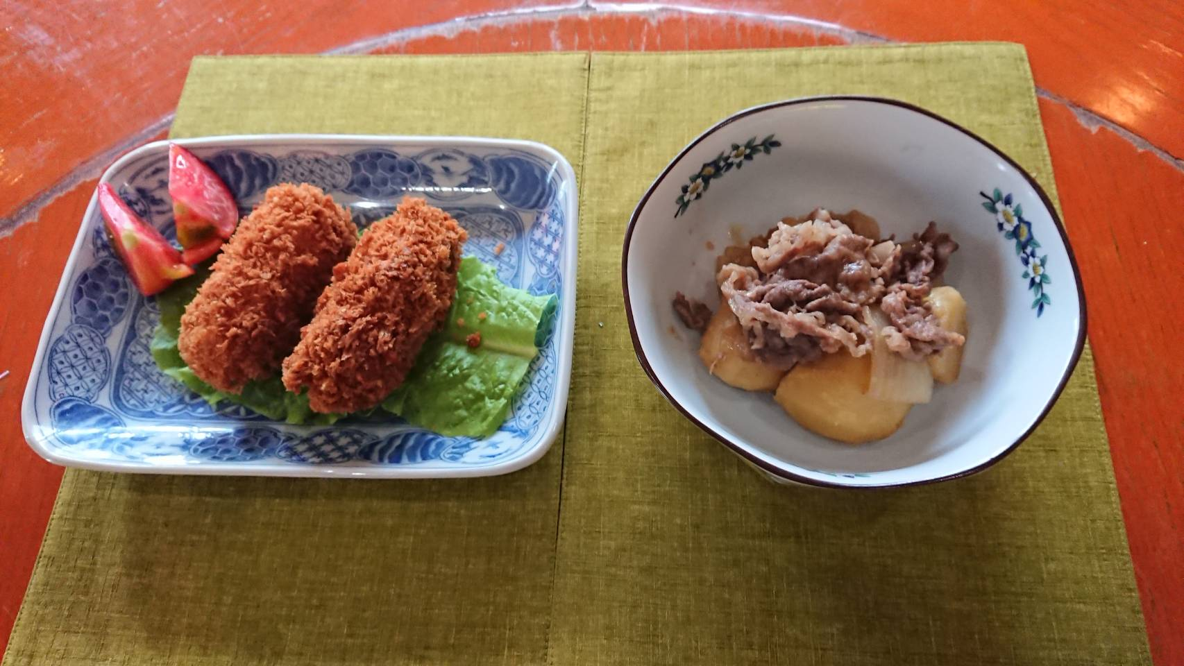 酒肴処 檀|豚角煮と大根