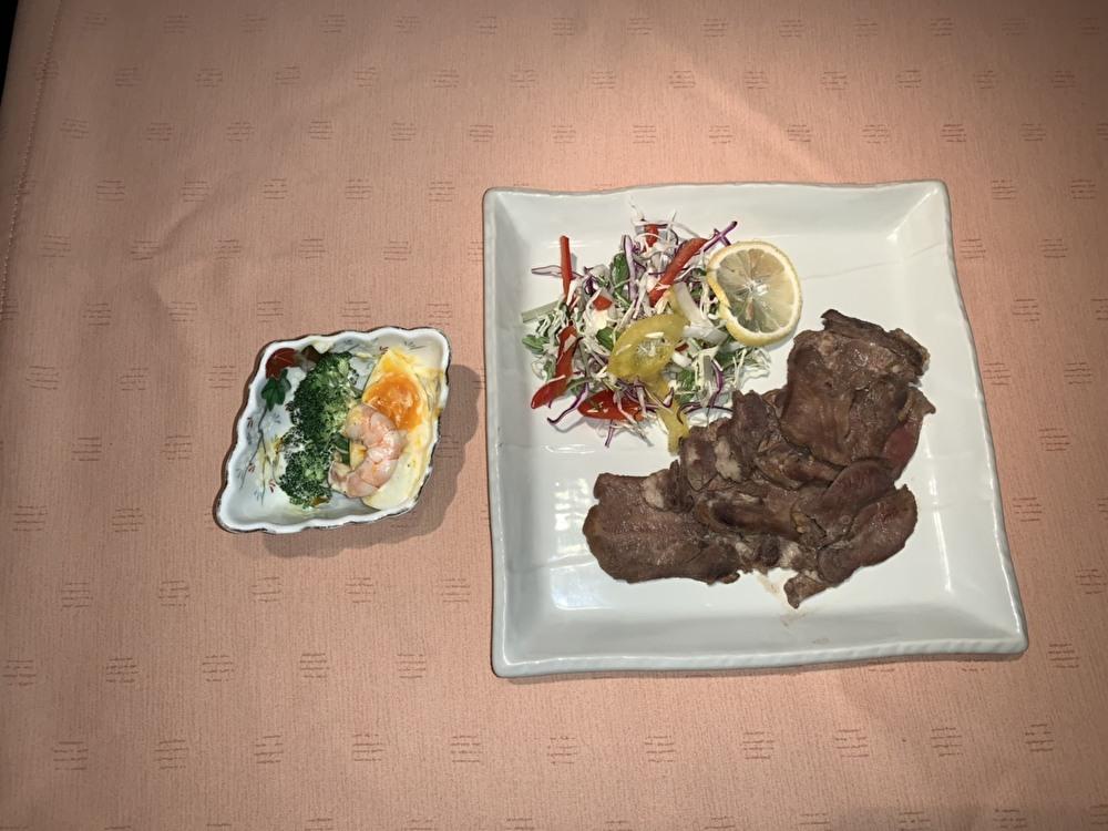 レストランBar 琴|バクダン(海鮮・納豆)+小鉢