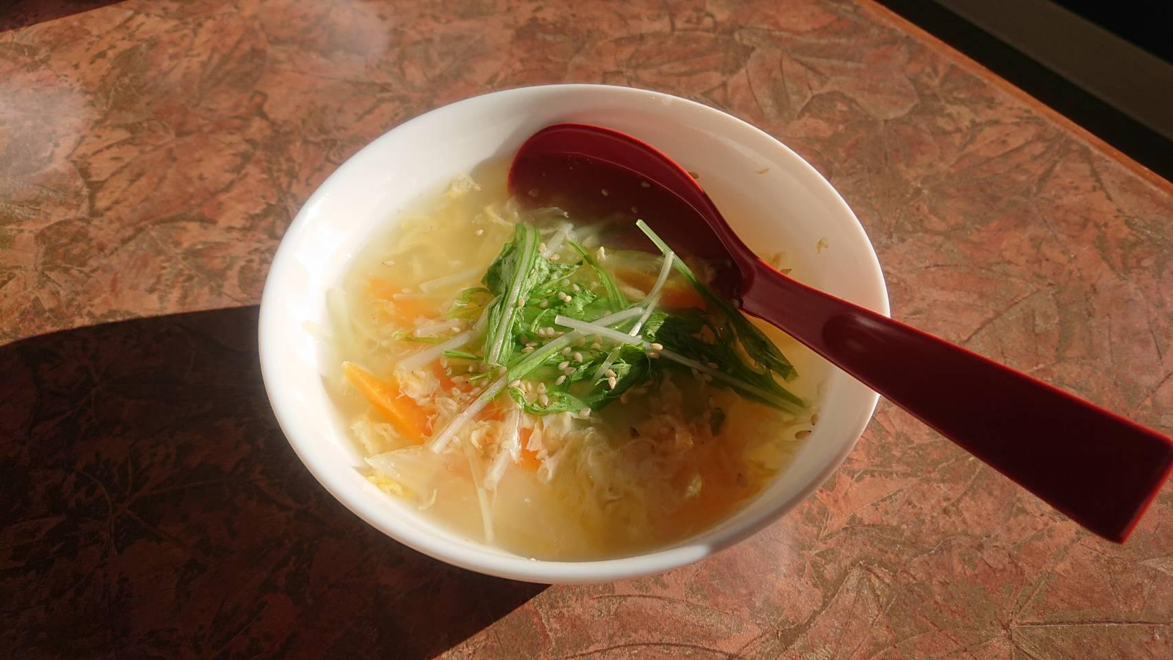 中世ら|クッパ&温麺
