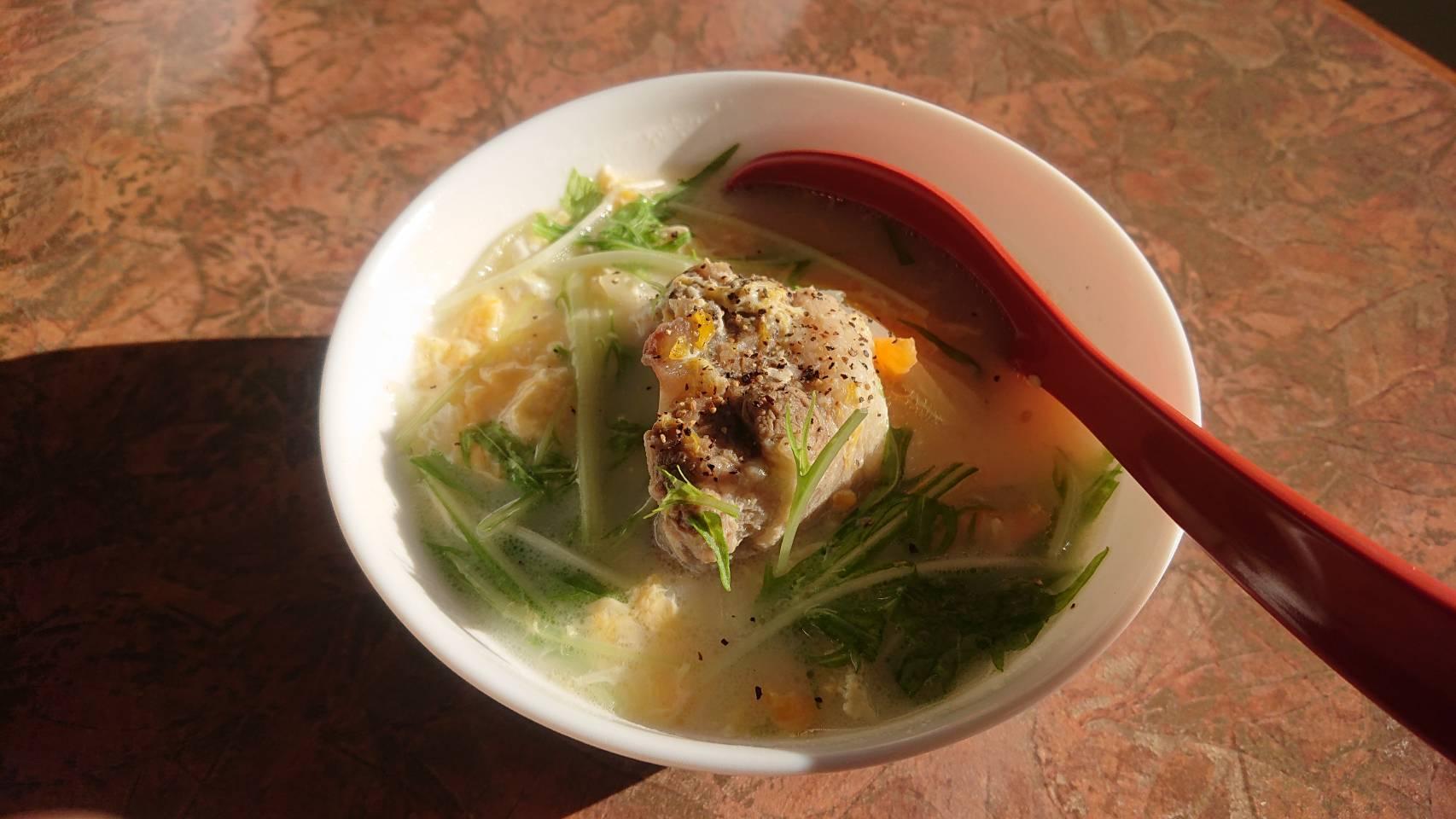 中世ら|テールクッパ&テール麺