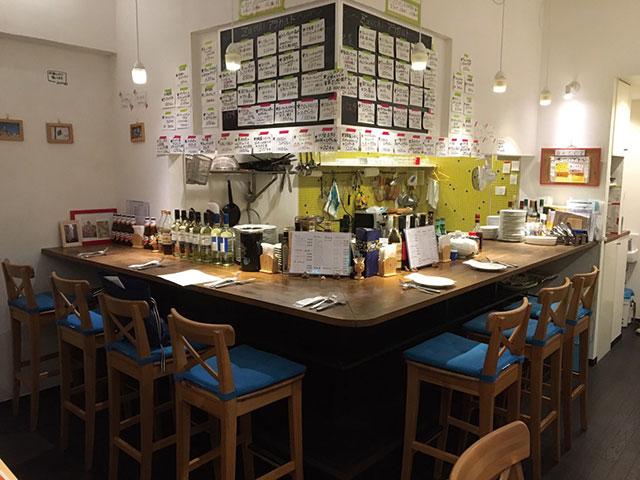 イタリア食堂Zacchi|店内